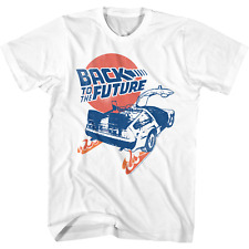 Back To The Future T-shirt Movie Film Poster Marty McFly delorean Vintage DVD W