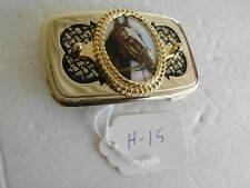Belt Buckle Brown Horse Head New H-15