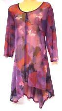 plus sz XXS/ 12 TS TAKING SHAPE Romance Tunic sheer sexy layering top NWT rp$110