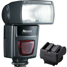 Nissin Di622 Mark II Flash + Sony ADPMAA Multi-Interface Shoe Adapter A7R A7S A7