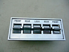1962 1963 1964 Ford, Mercury power window 4 gang switches Galaxie XL S55 FoMoCo