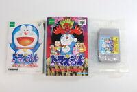 Doraemon Nobita to 3 Spirit Stones Boxed Nintendo 64 N64 Japan Import E1490