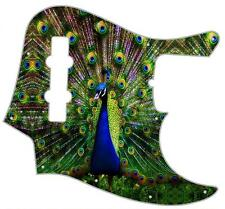 J Jazz Bass Pickguard Custom Fender Graphic Graphical Guitar Pick Guard Peacock