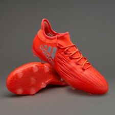 adidas X 16.2 FG Firm Ground Soccer Shoes RED SILVER S79538 Men Size 9 =Woman 10