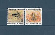 Cameroun   grenouilles    de 1978   num: 621/22  **
