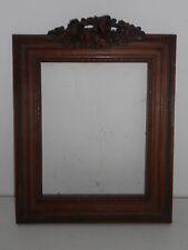 Cadre ancien en bois naturel.Noyer.Style Louis XVI.
