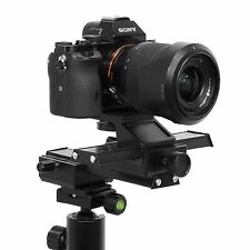 4-Way Macro Sliding Focus Focusing Rail Slider DSLR Camera Tripod Bracket