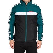 adidas Originals Marathon 83 Windbreaker Colorado Jacke Windjacke Schwarz Grün
