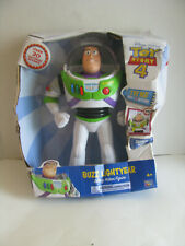 "Disney Toy Story 4 Walking Buzz Lightyear 11"" Laser Wings Sounds Phrases 3+"