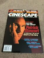 NOV/DEC 1996 CINESCAPE movie magazine TIM BURTON - STAR TREK