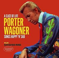 Porter Wagoner - Slice Of Life / Satisfied Mind + 6 Bonus Tracks [New CD] Bonus