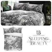 Laurence Llewelyn-Bowen TROPICOCO 100% Cotton Hand-Drawn Duvet Cover Set