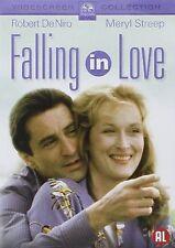 Falling In Love DVD Robert De Niro Meryl Streep Original UK Rele New Sealed R2