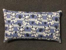 "Beautiful Handmade Bulldog Dog Accent - Throw Pillow 15"" x 9"""