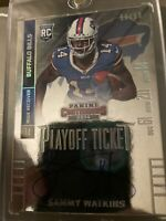 2014 PANINI CONTENDERS SAMMY WATKINS PLAYOFF TICKET AUTO RC /99