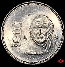 1987 Mexico 10 Pesos - Lot#W221