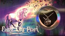 """Wish Pearl, Love Pearl, Mystic Pearl """"Oyster+ Necklace + Pearl"""" ~ Unicorn"""