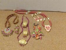 - resale - repurpose Vintage assorted jewelry sets: wear