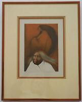 "Frank Howell ""Vestiges"" Framed Limited Edition Lithograph Hand Signed COA"
