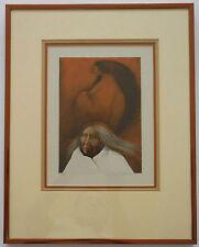 "Frank Howell ""Vestiges"" Framed Limited Edition Lithograph Hand Signed 1985 COA"