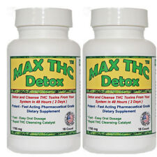 THC Detox - 48 Hours to Cleanse Formula - Max T-  2 Bottles