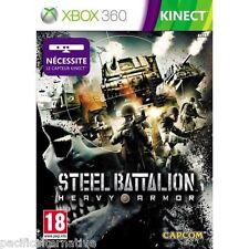 NEUF: jeu STEEL BATTALION HEAVY ARMOR sur xbox 360 en francais spiel guerre tir