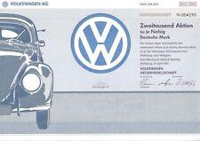 VW Volkswagen  AG 100000DM Wolfsburg 1991