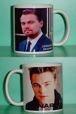LEONARDO DICAPRIO - Leo - with 2 Photos - Designer Collectible GIFT Mug