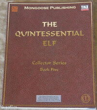 THE QUINTESSENTIAL ELF-COLLECTOR SERIES BOOK FIVE-d20 System-MONGOOSE PUBLISHING
