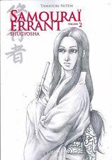 SAMOURAI ERRANT tomes 1 et 2 Yamatori Niten SERIE COMPLETE manga livre