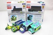 Takara Tomica Tomy Disney Motors Monster University 2BOXES SET Diecast Toy Car