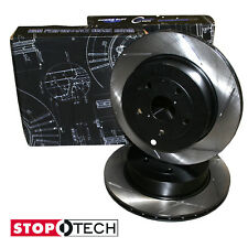 STOPTECH rear slotted REPLACEMENT BRAKE rotors/discs for BMW 530 2004-2007
