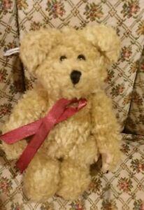 "Boyds Bears 6"" plush bear Ornament Fall 1998"