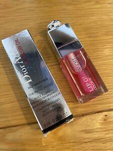 Dior Lip Glow Oil in 007 Rasberry
