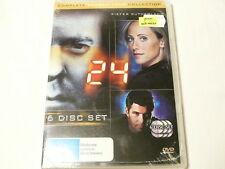 "24 TWENTY FOUR SEASON FOUR, 6 DVDS, PAL ""NEW SEALED"" AUZ SELLER"