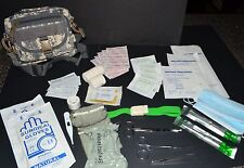 60+pc IFAK First Aid Kit Bag Pouch Trauma Medic Utility molle - (Digital ACU 2)