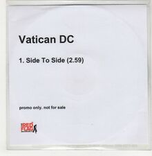 (GO742) Vatican DC, Side To Side - 2006 DJ CD