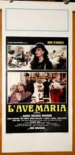 locandina film L'AVE MARIA Nino D'Angelo Maria Rosaria Omaggio 1982