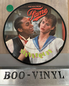 "THE KIDS FROM FAME 7"" MANNEQUIN PICTURE DISC NM CON RECORD"