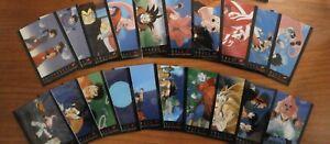 Lot 20 Cartes DRAGON BALL Z - CHROMIUM - Amada USA 1996