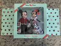 Mickey and Minnie Mouse Limited Edition Valentine's Day Doll Set 2021 IN HAND