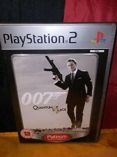 007: Quantum Of Solace (Platinum) - Sony PS2 PAL - Includes Manual