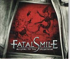 FATAL SMILE - WELCOME TO THE FREAKSHOW (FS1655) SWEDISH HARD ROCK CD MAXI SINGLE