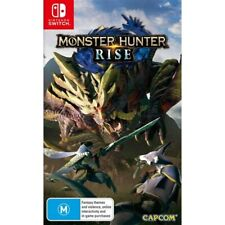 Monster Hunter Rise -- Standard Edition (Nintendo Switch, 2021)
