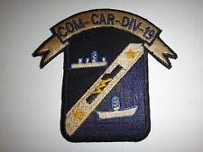US Navy COM-CAR-DIV-19 Ship Communications Carrier Division 19 Patch