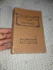La Menuiserie A. Poutiers 1926 Encyclopédie Industrielle Travail du Bois Machine