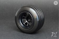 Sweepracing RC grooved formula tires - Sweep gomme rain - REAR- F1RV4G-24EPG