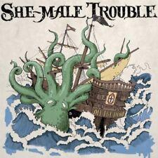 SHE-MALE TROUBLE - OFF THE HOOK (LP)   VINYL LP NEW