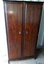 STAG minstrel mahogany 2 door wardrobe 101 x 62 x 192 cm very good condition