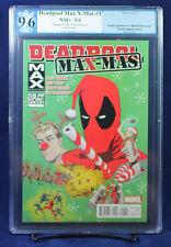 Deadpool Max X-Mas Special #1 PGX (not CGC) 9.6 NM+ One Shot!!!